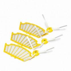 Set van 3 filters en zijborstels voor de 500-serie