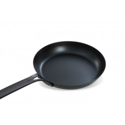 Black Steel Koekenpan 26cm