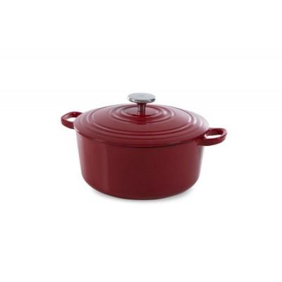 Bourgogne Stoofpot 20 cm Chili Red  BK