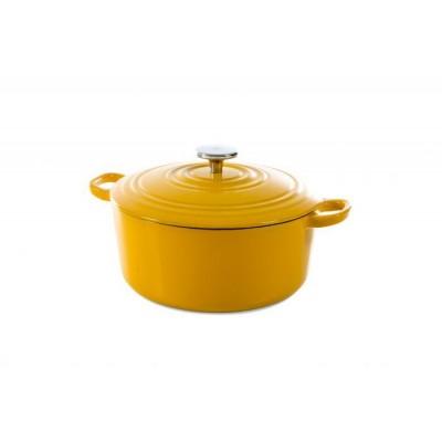 Bourgogne Stoofpot 24 cm Sunny Yellow  BK