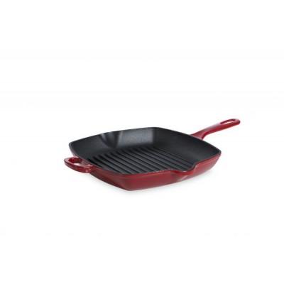 Bourgogne Grillpan 26 cm Chili Red  BK