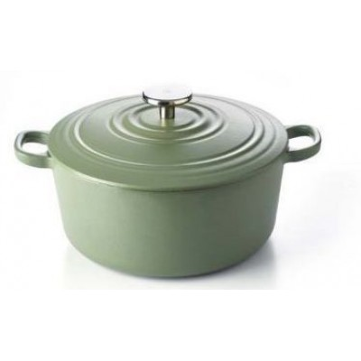 Bourgogne Stoofpot 24 cm Olive Green  BK