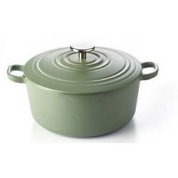 Bourgogne Stoofpot 28 cm Olive Green  BK