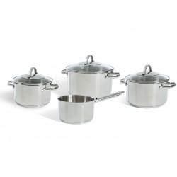 Essentials 4-delige kookpottenset  BK