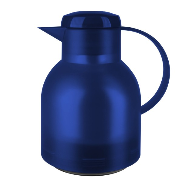 Emsa Isoleerkannen Samba 1L Transculent Blauw 504231