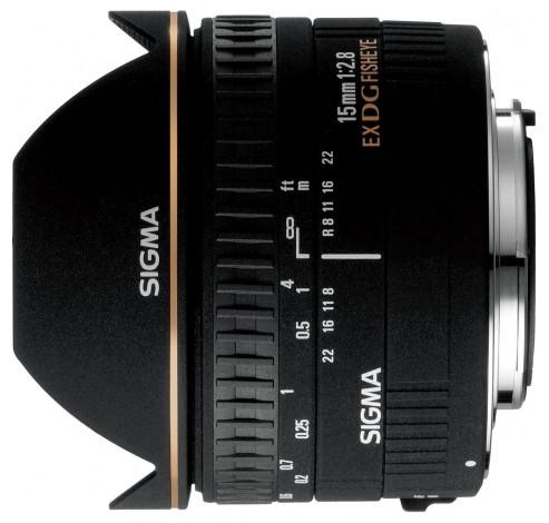 15mm F2.8 EX DG Diag. Fisheye Pentax AF  Sigma