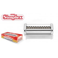 Simplex lasagnette 12mm opzetstuk voor Ipasta pastamachine