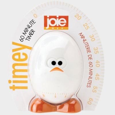 Egghead kookwekker tot 1 uur ei wit 10.2x5x11.4cm  JOIE