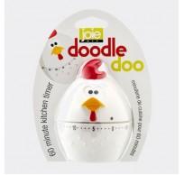 DoodleDoo kookwekker tot 1 uur kip Ø 7cm H 10.2cm