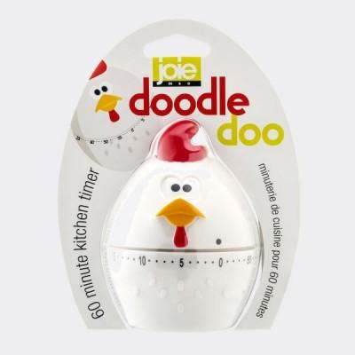 DoodleDoo kookwekker tot 1 uur kip Ø 7cm H 10.2cm  JOIE