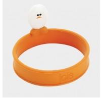 Roundy eibakring uit silicone oranje Ø 12.7cm H 6.4cm