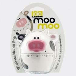 MooMoo kookwekker tot 1 uur koe wit  JOIE