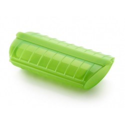 magnetron stomer 1-2 personen met vochtafscheider groen 24x12.4x5cm  Lékué