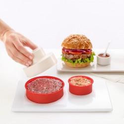 MyBurger hamburgerpers uit silicone en kunststof Ø 11cm H 6cm