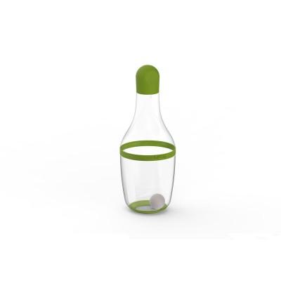 Vinaigrette shaker uit silicone en Tritan groen 180ml