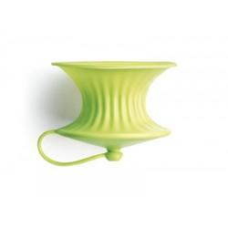 set van 2 citruspersen uit silicone groen Ø 8.3cm H 6.3cm