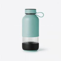 Bottle To Go drinkfles uit glas turkoois 600ml  Lékué
