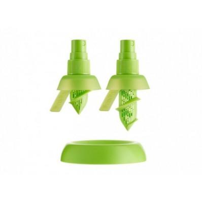 Set van 2 citrussprays voor limoen en citroen groen