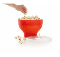 Opvouwbare popcornmaker voor magnetron