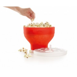 Opvouwbare popcornmaker voor magnetron