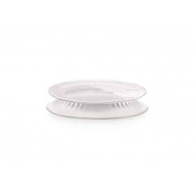Set van 3 silicone vershouddeksels transparant ø 11.5, 15 en 20cm