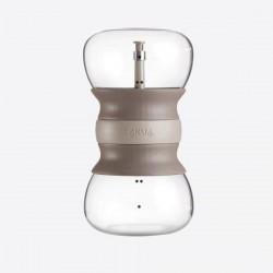 Calm Tea thee infuser uit glas zandloper 500ml  Lékué