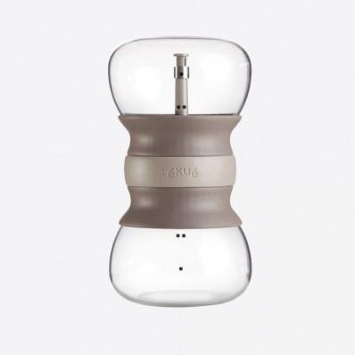 Calm Tea thee infuser uit glas zandloper 500ml