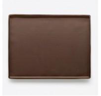 Non Spill bakmat uit silicone bruin 40x30x1.2cm