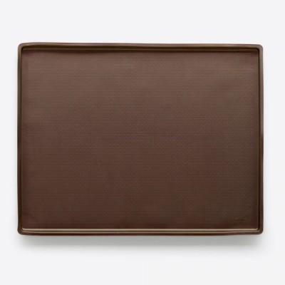 Non Spill bakmat uit silicone bruin 40x30x1.2cm  Lékué