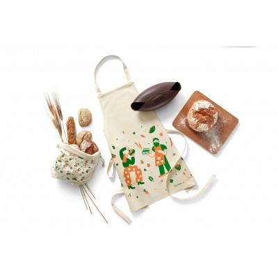 Home Baker set van broodbakvorm, broodmand en schort
