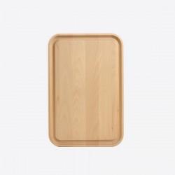 SNIJPLANK MET SAPGEUL UIT BEUK   T&G Woodware