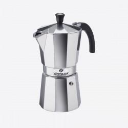 Brasilia 9-kops Italiaanse espressokan uit aluminium  Westmark