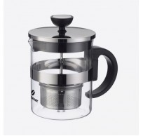 Tea Time theepot uit glas met infuser 600ml