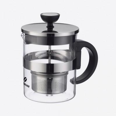 Tea Time theepot uit glas met infuseur 600ml