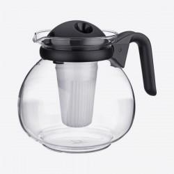 Tea Time theepot uit glas met infuseur 1.5L  Westmark