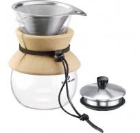 Brasilia set voor Slow Coffee uit glas 500ml