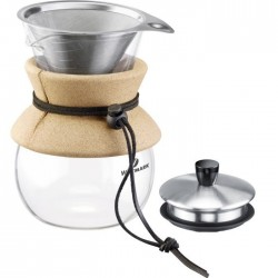 Brasilia set voor Slow Coffee uit glas 500ml  Westmark