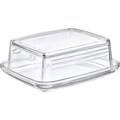 boterschaal uit glas 14.3x11.8x5.5cm