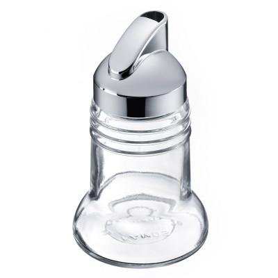 Paris-Chrome universele strooier uit glas en kunststof Ø 7.3cm H 12.4cm  Westmark