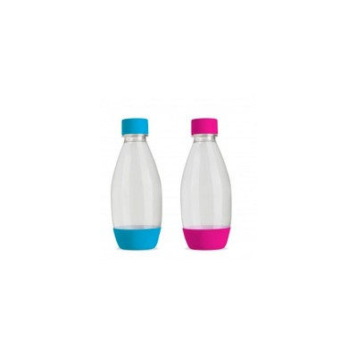 Fuse duo bouteilles 1/2 litre pink/blue SodaStream