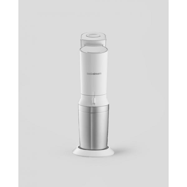 Crystal Wit met 2 glazen karaffen SodaStream