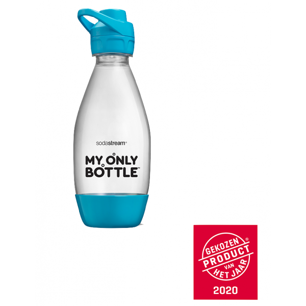 fles 0,5l my only bottle sport turquoise SodaStream