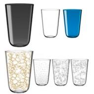 Tonic Glass set van 6 hoge drinkglazen 400ml