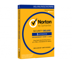 Security Deluxe (1 gebruiker - 5 apparaten) Norton