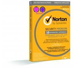 Norton Security Premium (1 gebruiker - 10 apparaten) Norton