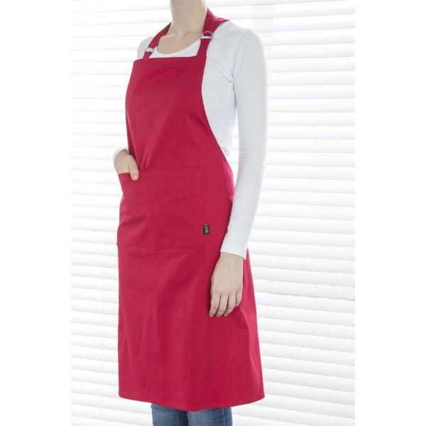 Point-Virgule Keukenschorten Schort rood 85x90cm