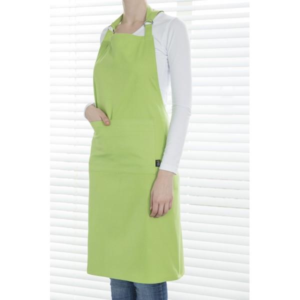 Point-Virgule Keukenschorten Schort groen 85x90cm