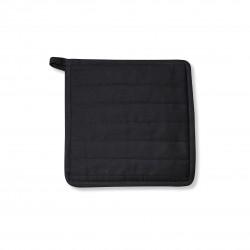 Pannenlap zwart 22x22cm