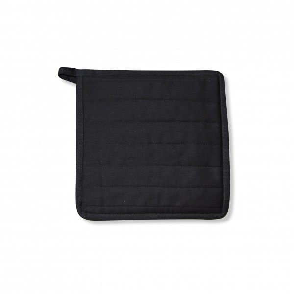 Point-Virgule Pannenlap zwart 22x22cm