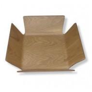 Broodmand houtkleur 29x29x8cm